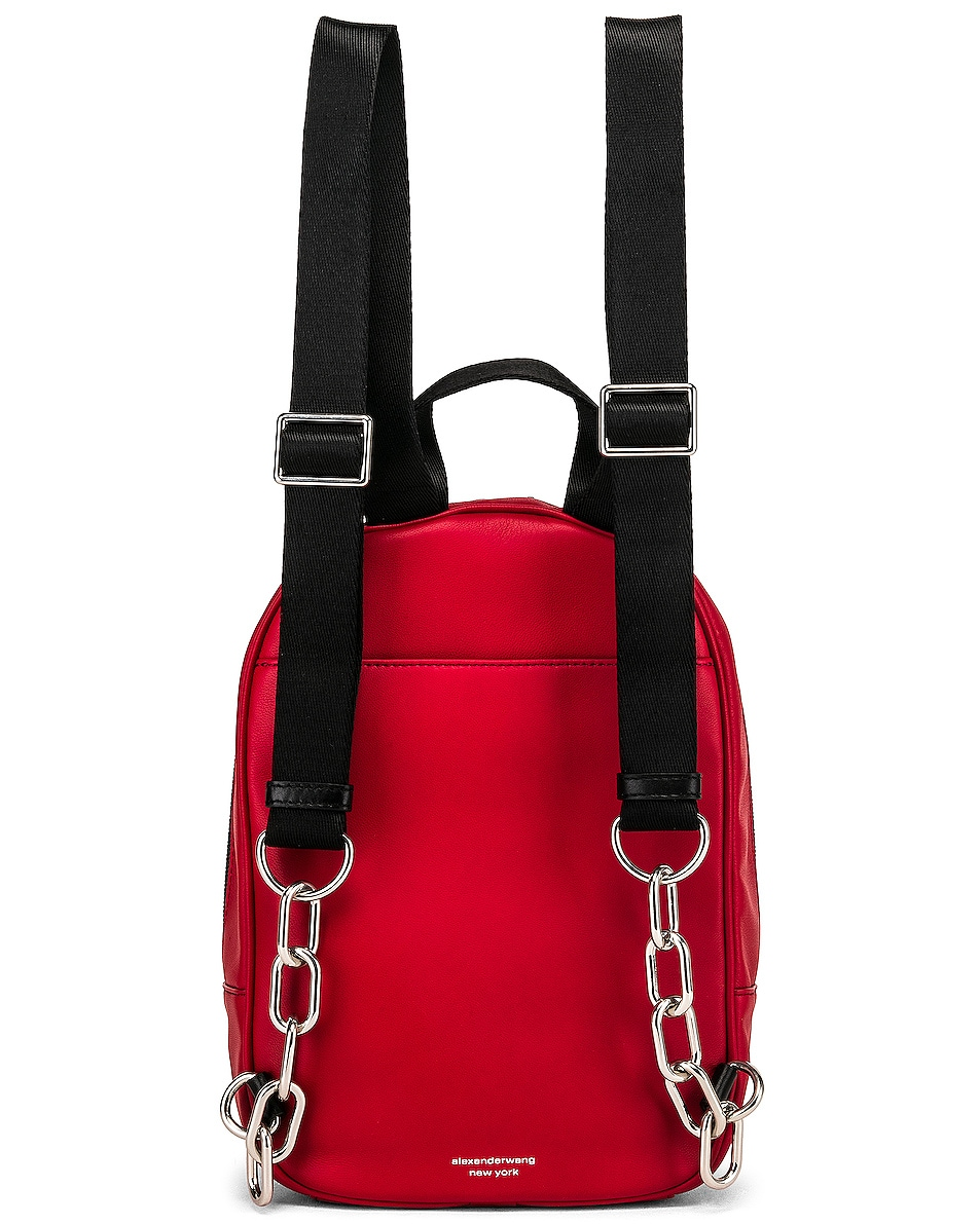 Image 3 of Alexander Wang Attica Soft Medium Backpack in Red