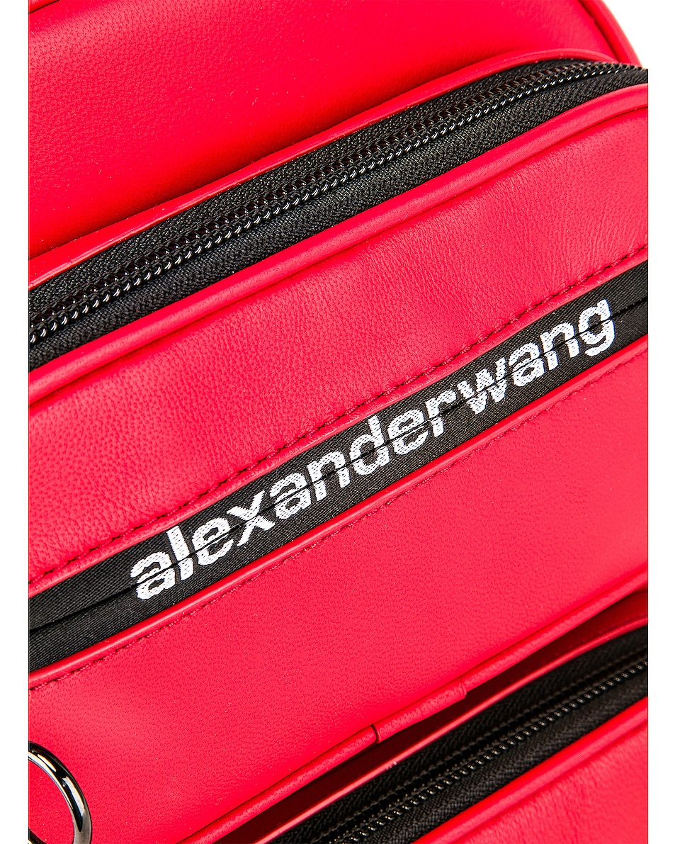Image 6 of Alexander Wang Attica Soft Medium Backpack in Red