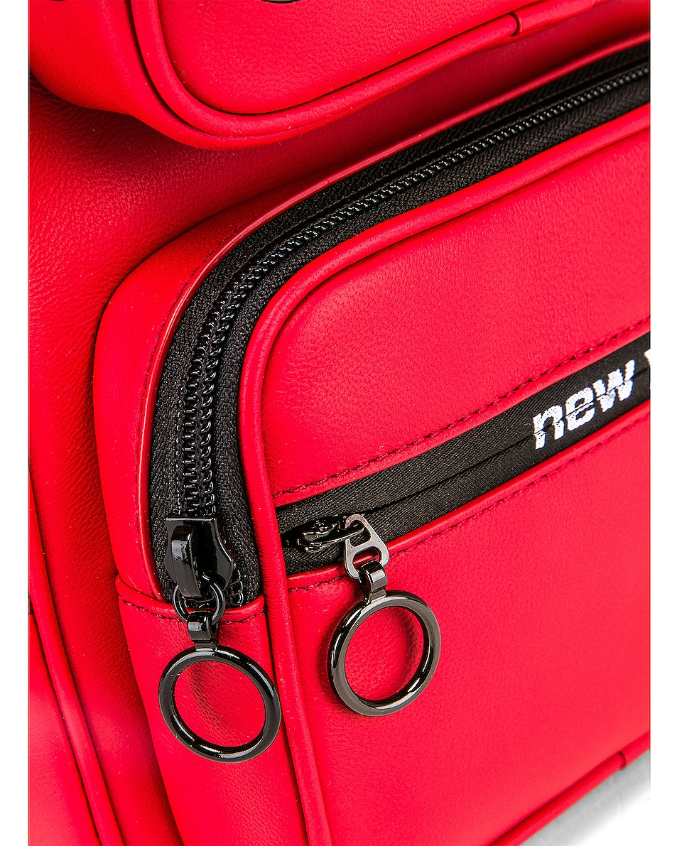 Image 7 of Alexander Wang Attica Soft Medium Backpack in Red