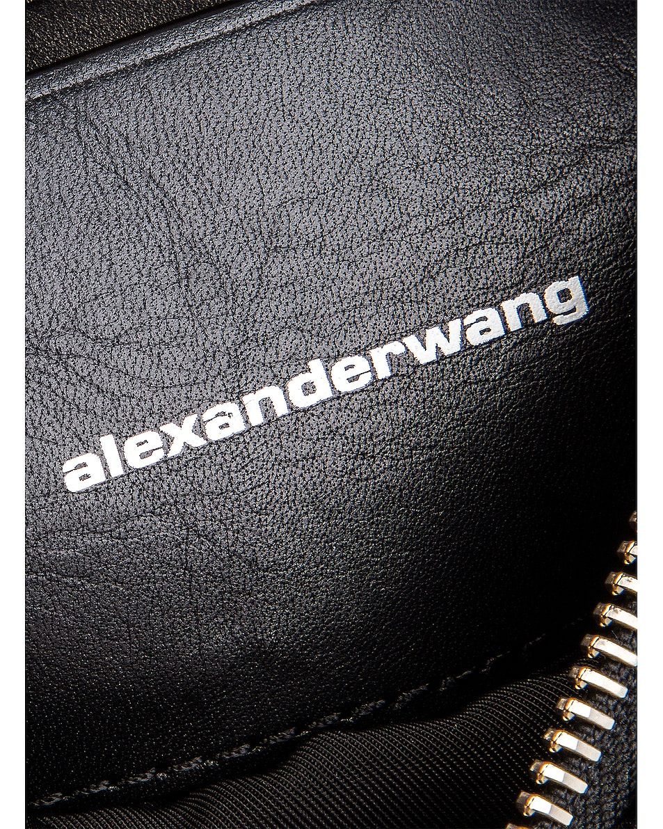 Image 5 of Alexander Wang Attica Soft Mini Fanny Crossbody Bag in Black