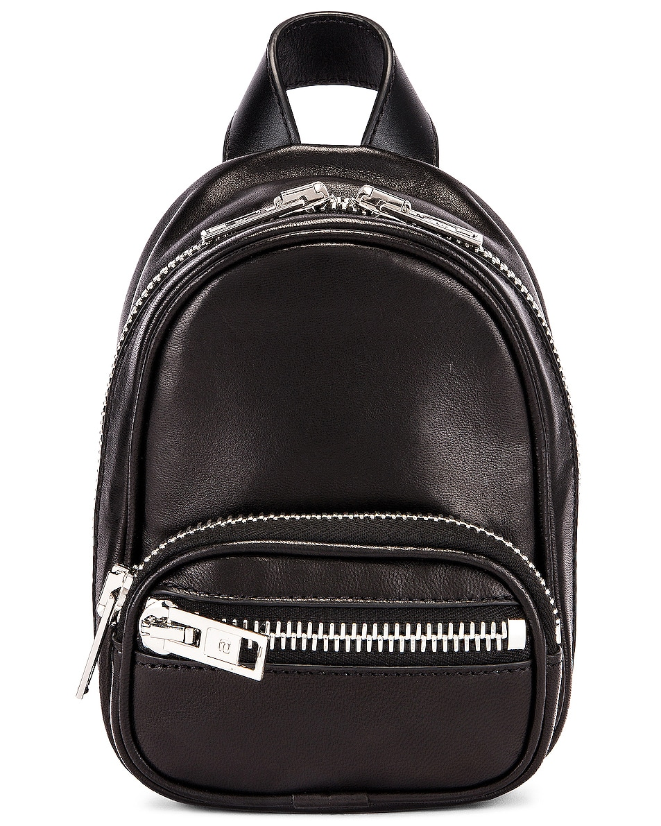 Image 1 of Alexander Wang Attica Soft Mini Backpack in Black