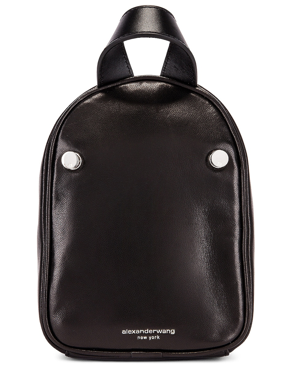 Image 3 of Alexander Wang Attica Soft Mini Backpack in Black