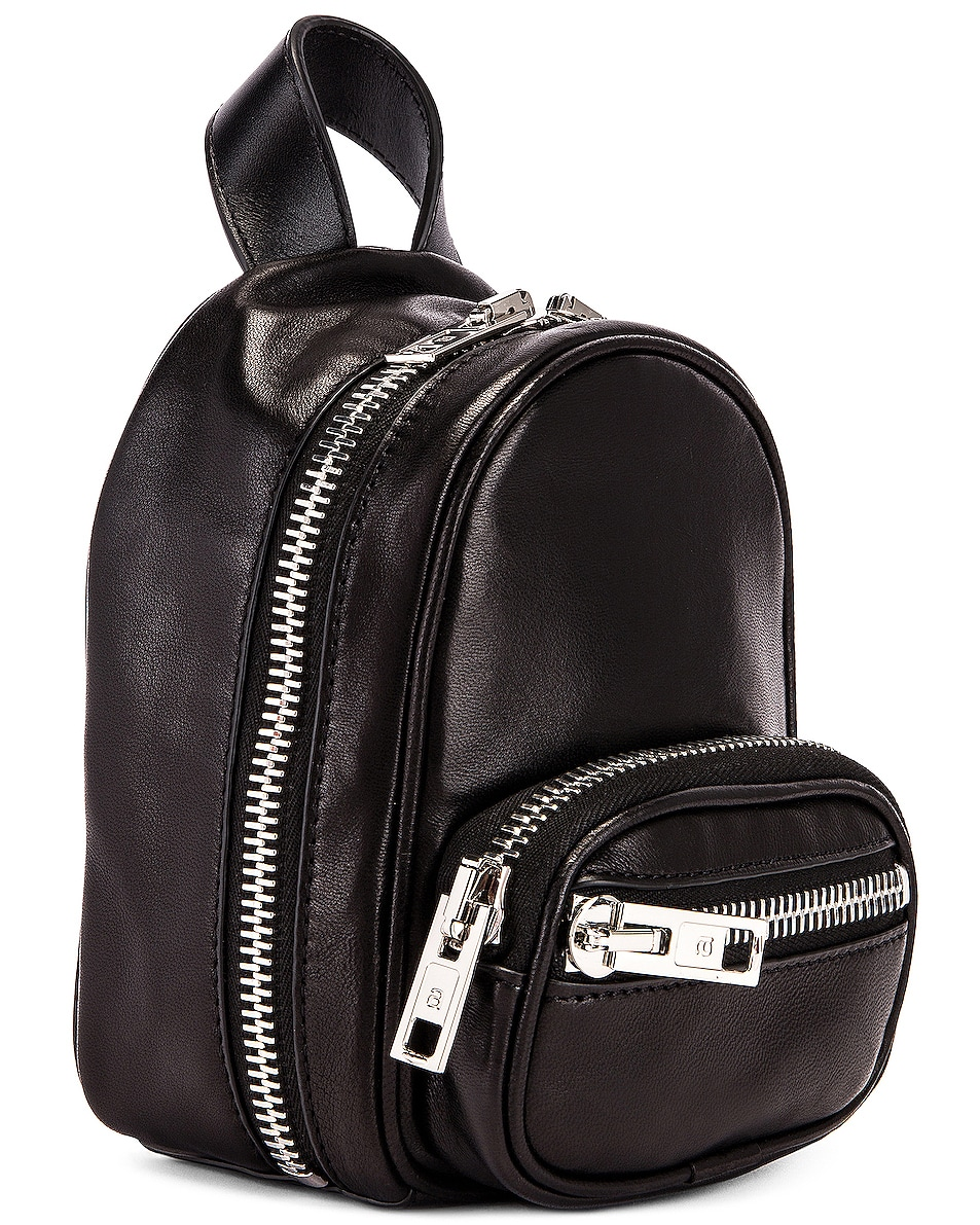 Image 4 of Alexander Wang Attica Soft Mini Backpack in Black