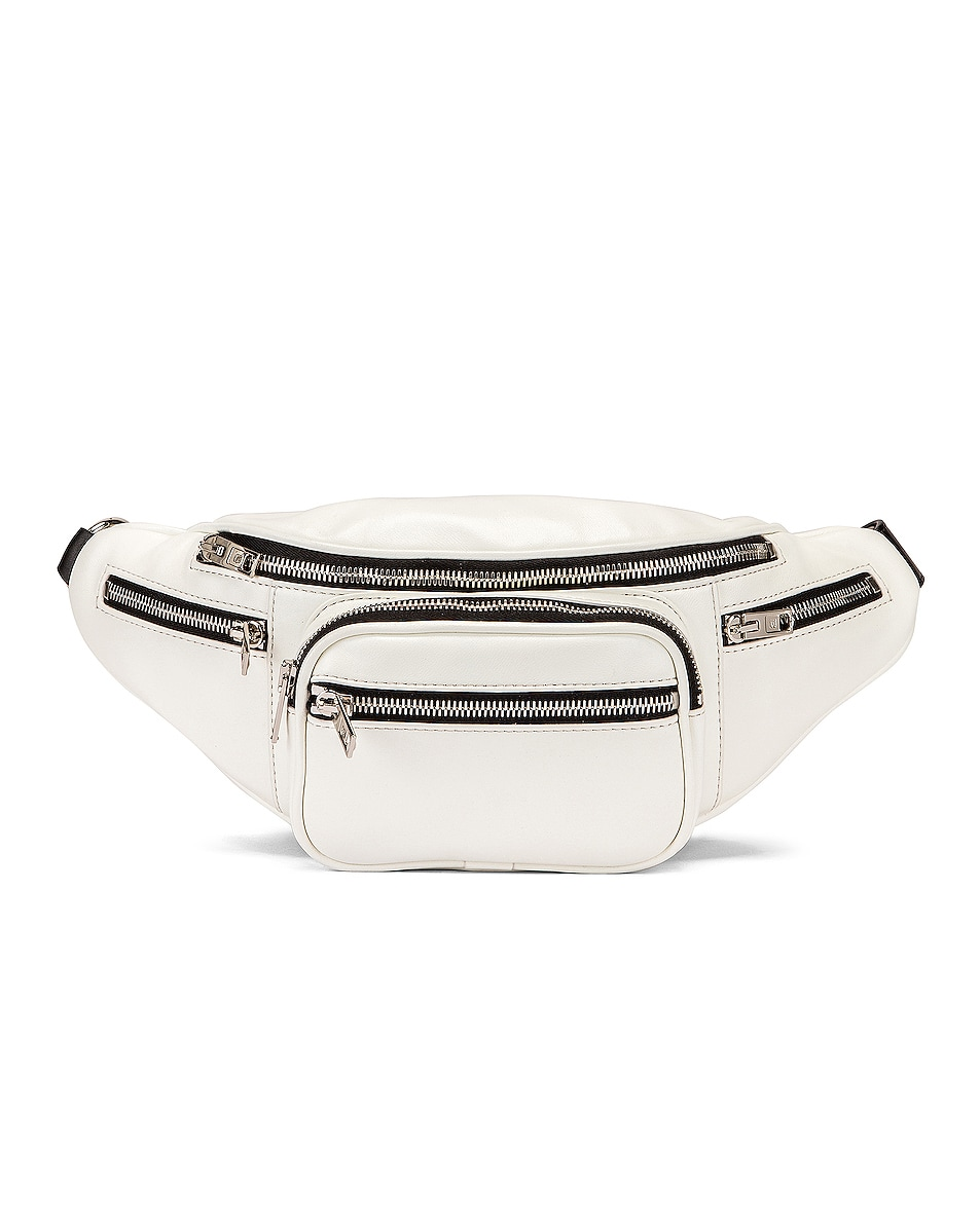 Image 1 of Alexander Wang Attica Fanny Pack in White