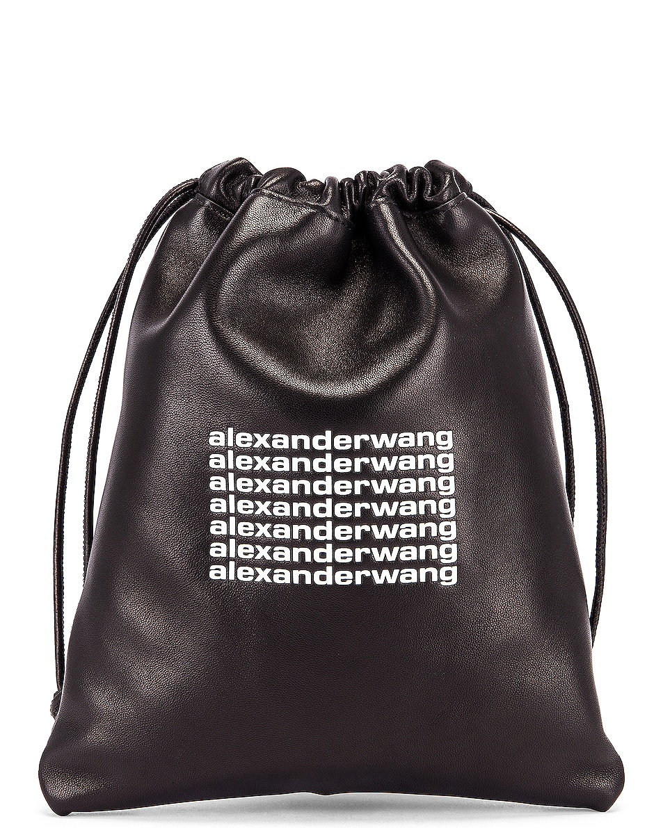 Image 1 of Alexander Wang Ryan Mini Dust Bag in Black