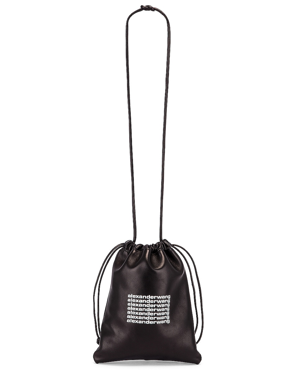 Image 6 of Alexander Wang Ryan Mini Dust Bag in Black