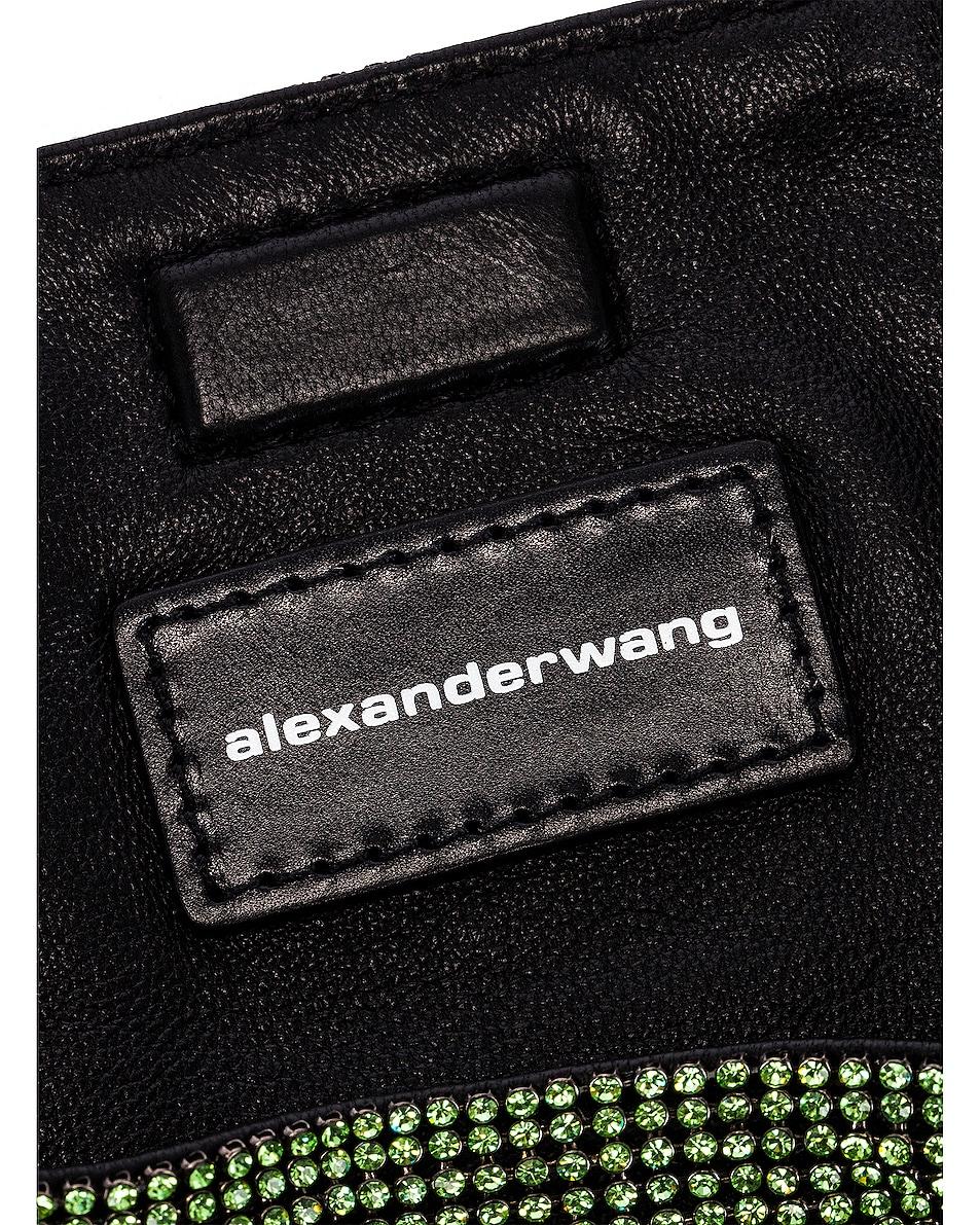Image 6 of Alexander Wang Wanglock Mini Shopper Mesh Bag in Peridot