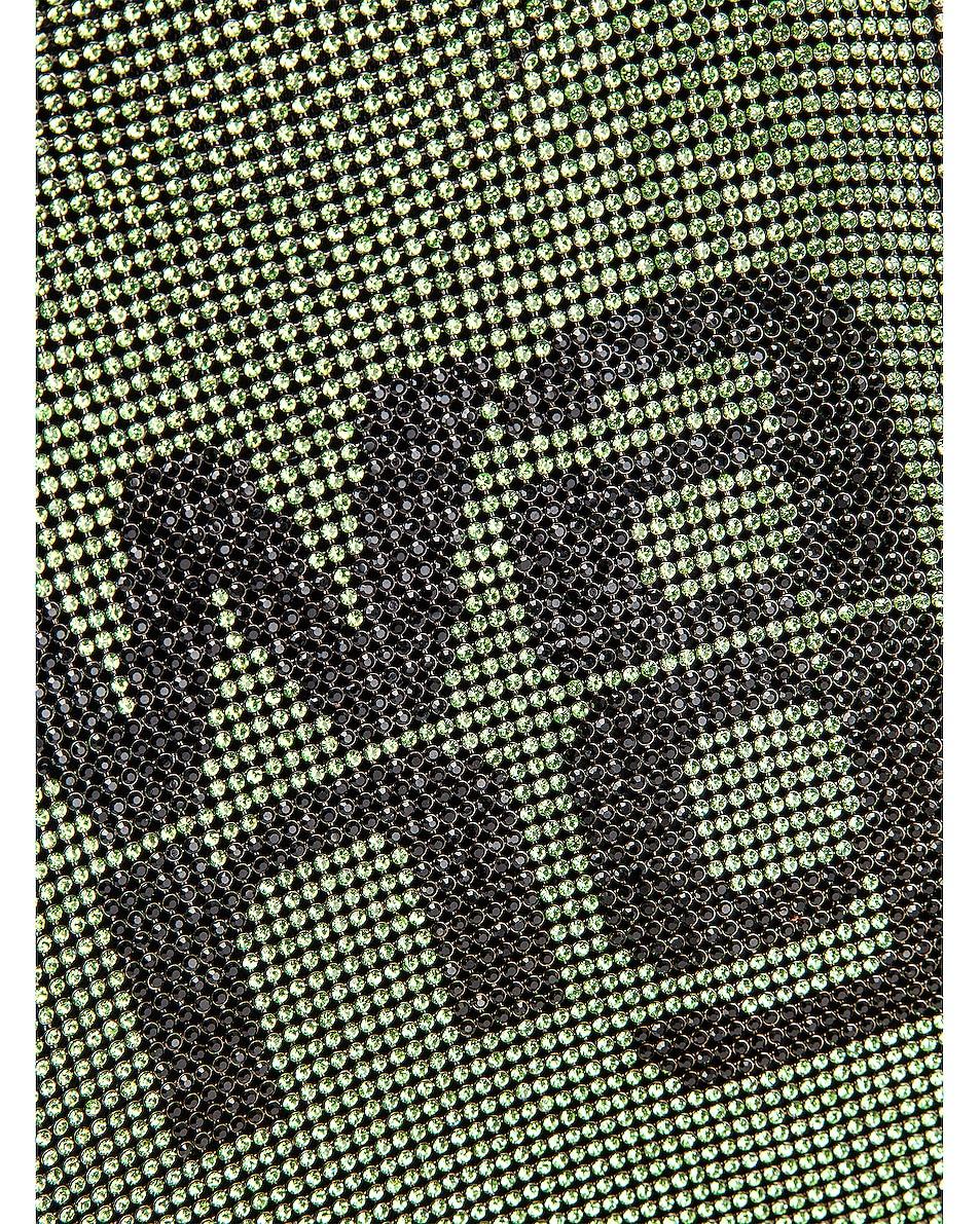 Image 7 of Alexander Wang Wanglock Mini Shopper Mesh Bag in Peridot