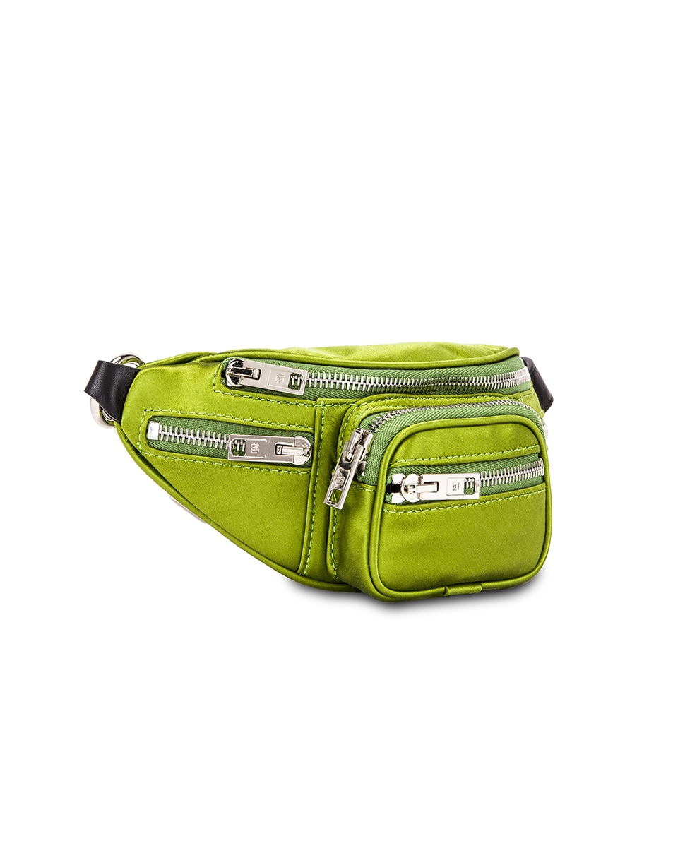Image 4 of Alexander Wang Attica Soft Mini Fanny Crossbody Bag in Fern