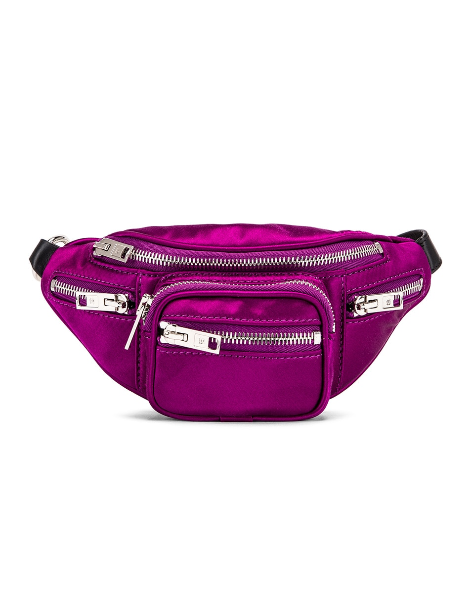 Image 1 of Alexander Wang Attica Soft Mini Fanny Crossbody Bag in Purple