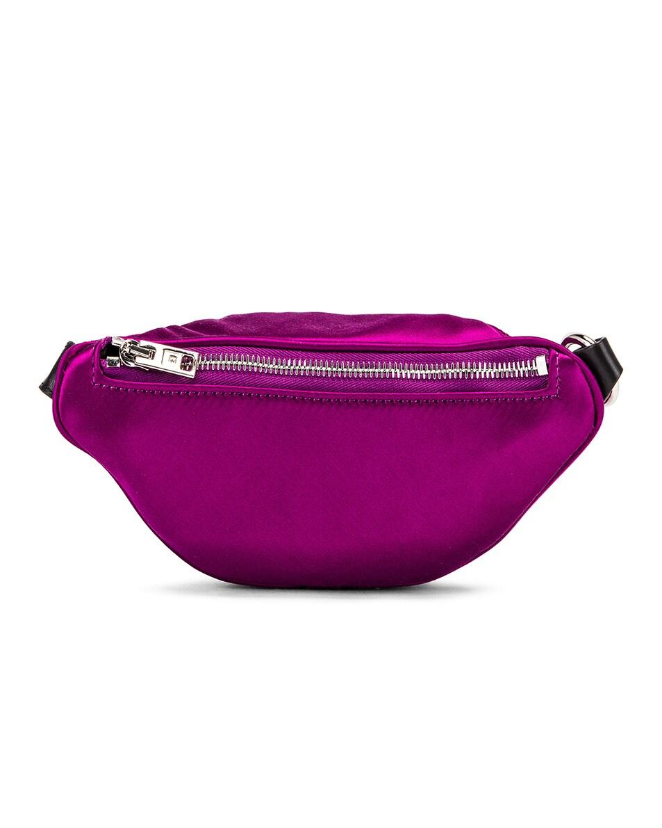 Image 3 of Alexander Wang Attica Soft Mini Fanny Crossbody Bag in Purple