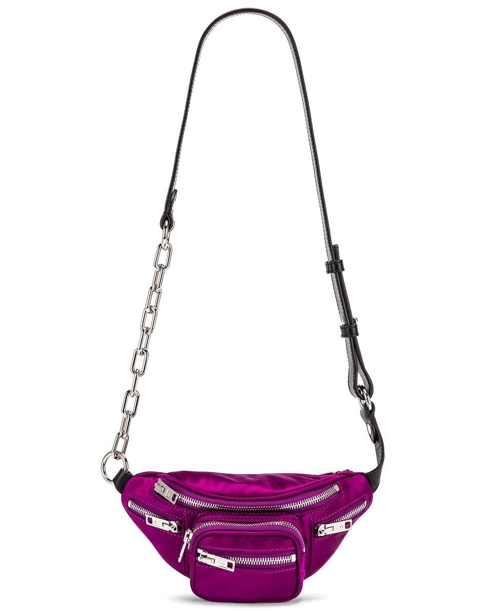 Image 6 of Alexander Wang Attica Soft Mini Fanny Crossbody Bag in Purple