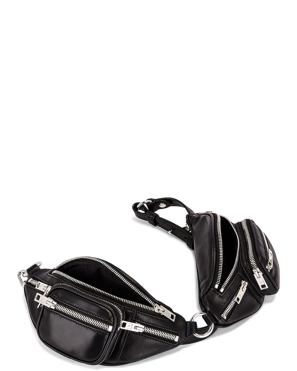 Image 5 of Alexander Wang Attica Soft Double Mini Fanny Pack in Black