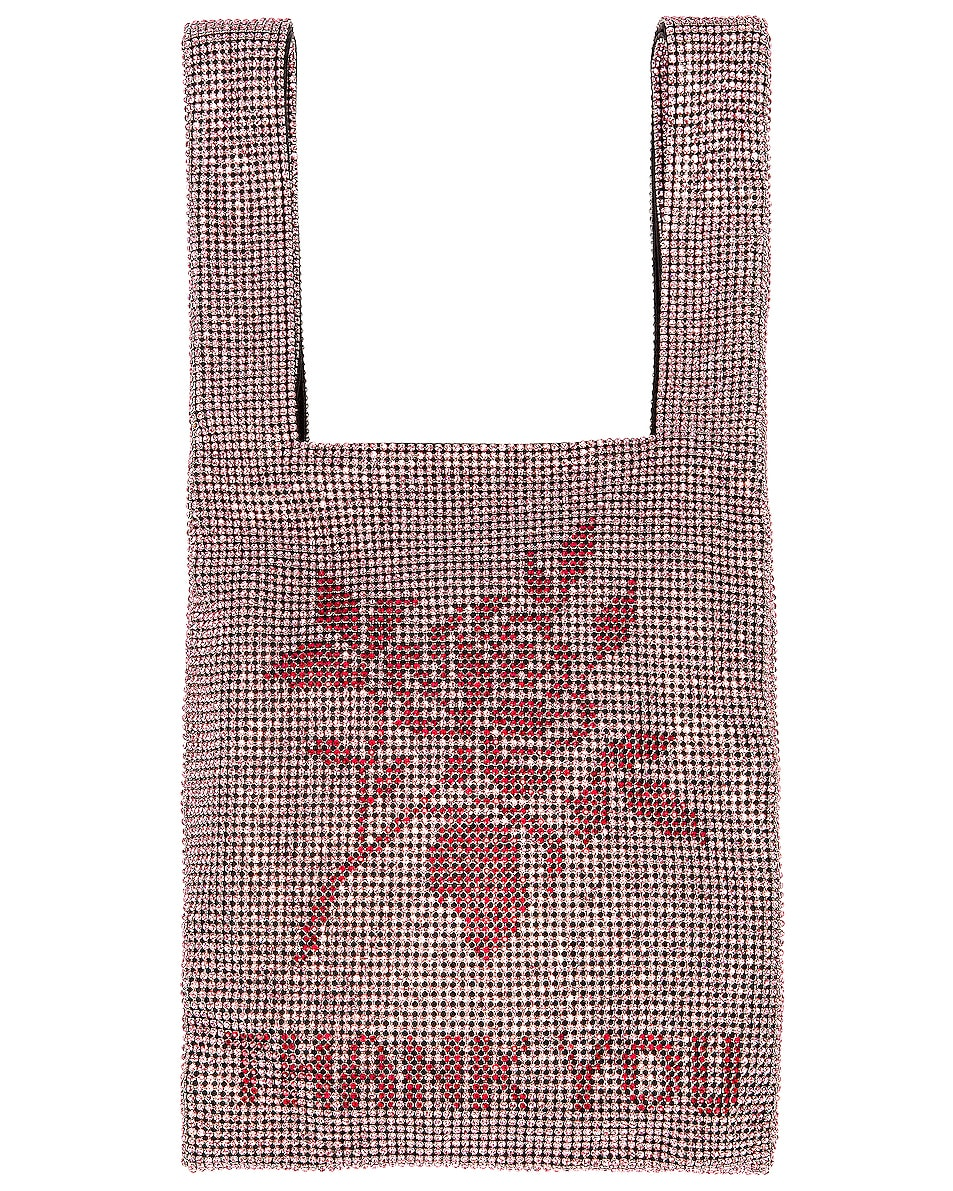 Image 1 of Alexander Wang Mini Shopper Bag in Pink & Red