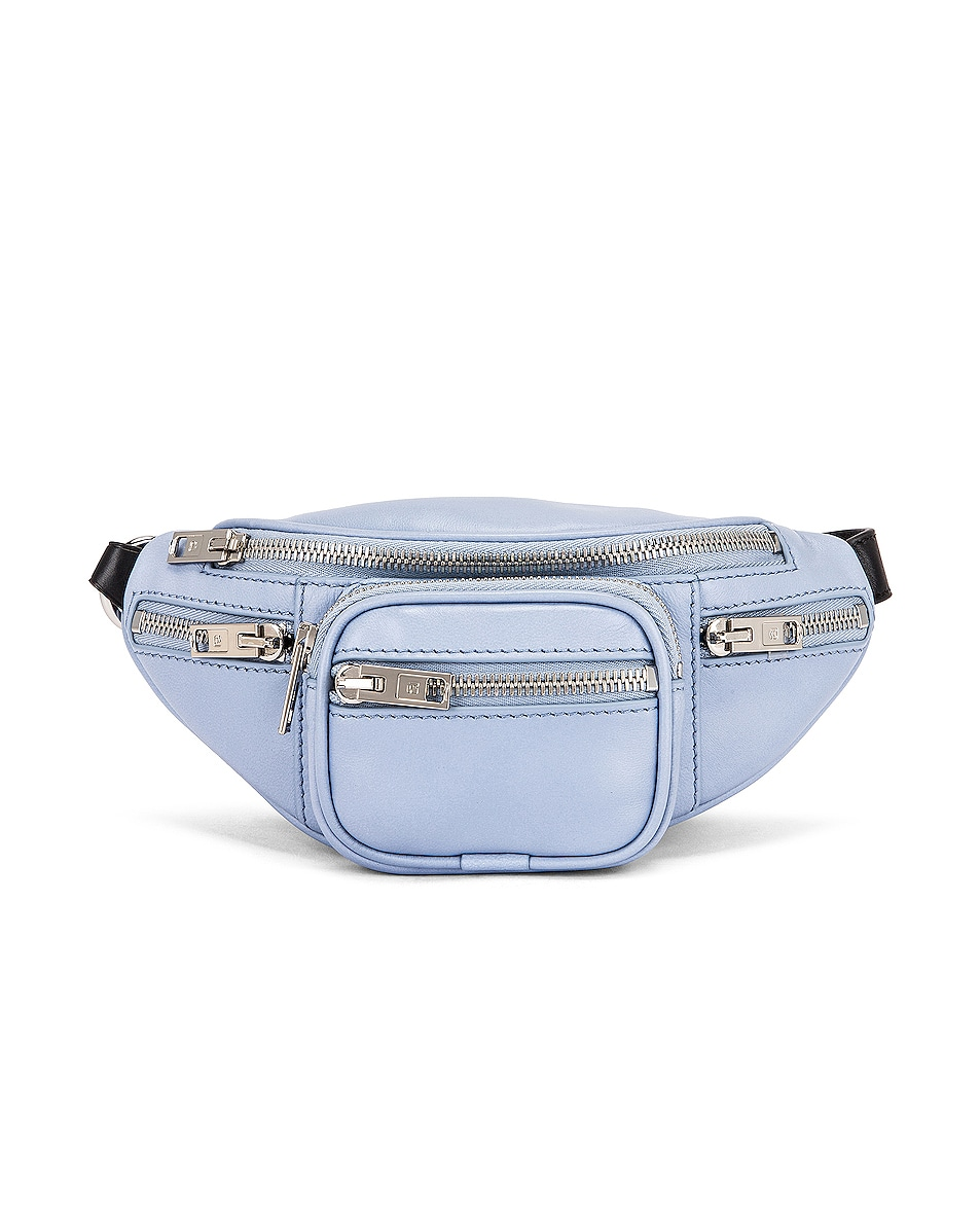 Image 1 of Alexander Wang Attica Soft Mini Fanny Crossbody Bag in Periwinkle