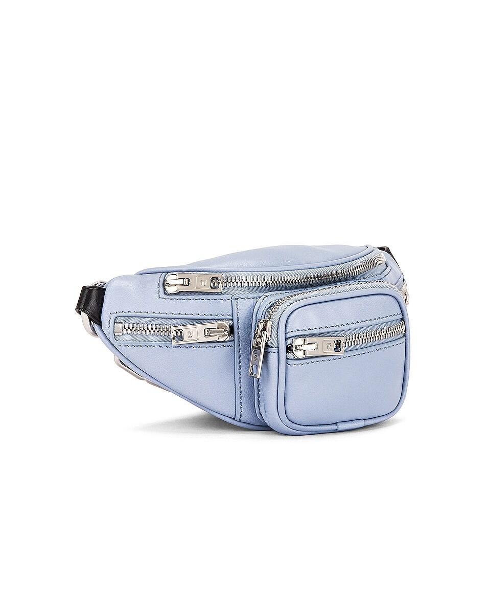 Image 4 of Alexander Wang Attica Soft Mini Fanny Crossbody Bag in Periwinkle