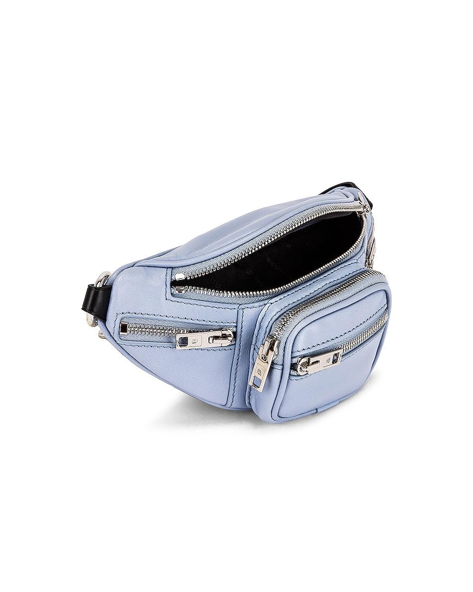 Image 5 of Alexander Wang Attica Soft Mini Fanny Crossbody Bag in Periwinkle