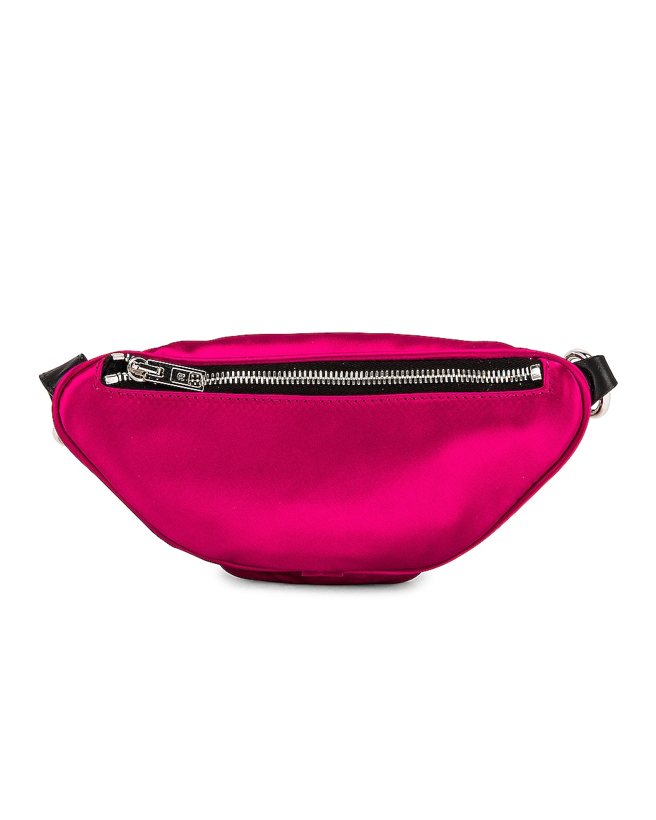 Image 3 of Alexander Wang Attica Soft Mini Fanny Crossbody Bag in Hot Pink