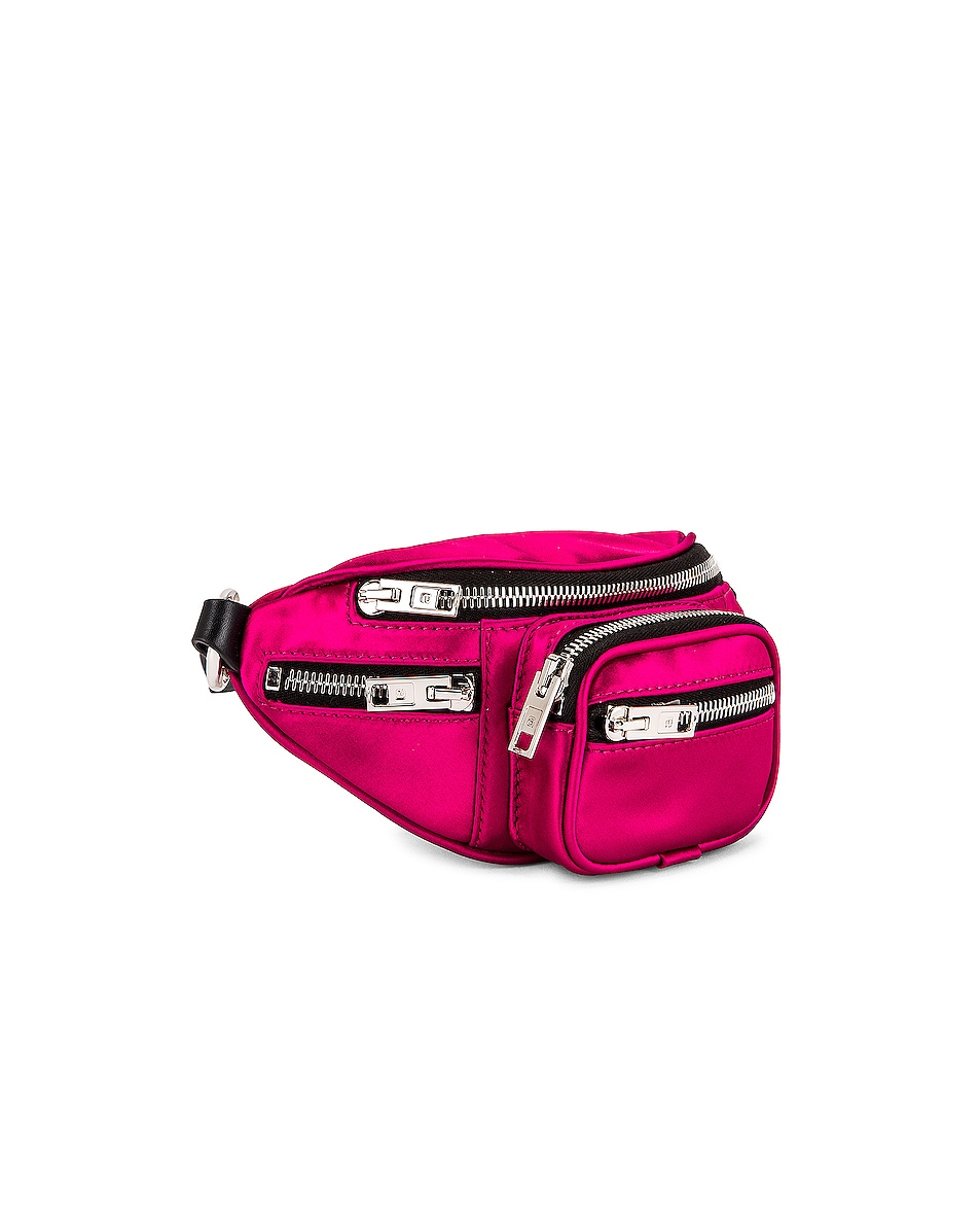 Image 4 of Alexander Wang Attica Soft Mini Fanny Crossbody Bag in Hot Pink