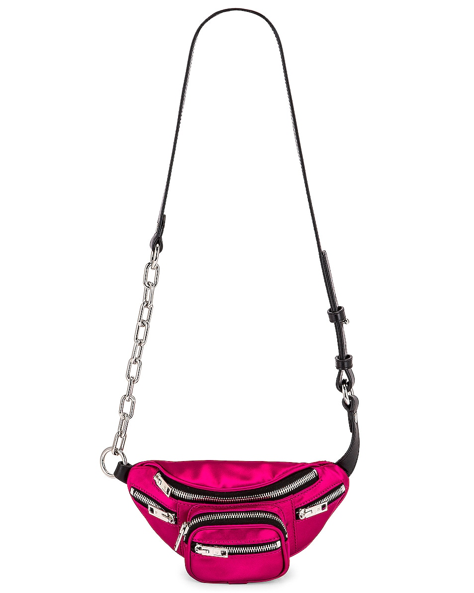 Image 6 of Alexander Wang Attica Soft Mini Fanny Crossbody Bag in Hot Pink