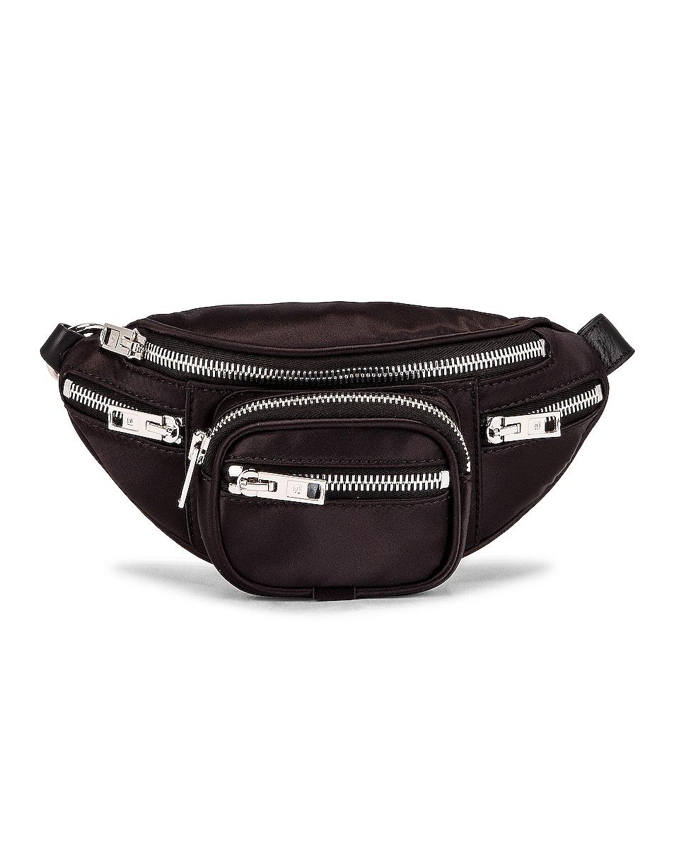Image 1 of Alexander Wang Attica Soft Mini Fanny Crossbody Bag in Black