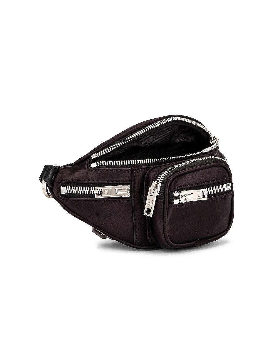 Image 5 of Alexander Wang Attica Soft Mini Fanny Crossbody Bag in Black