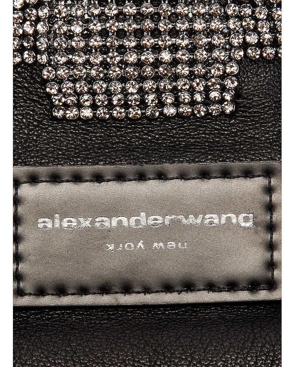 Image 5 of Alexander Wang Wangloc Knot Pouch Bag in Black