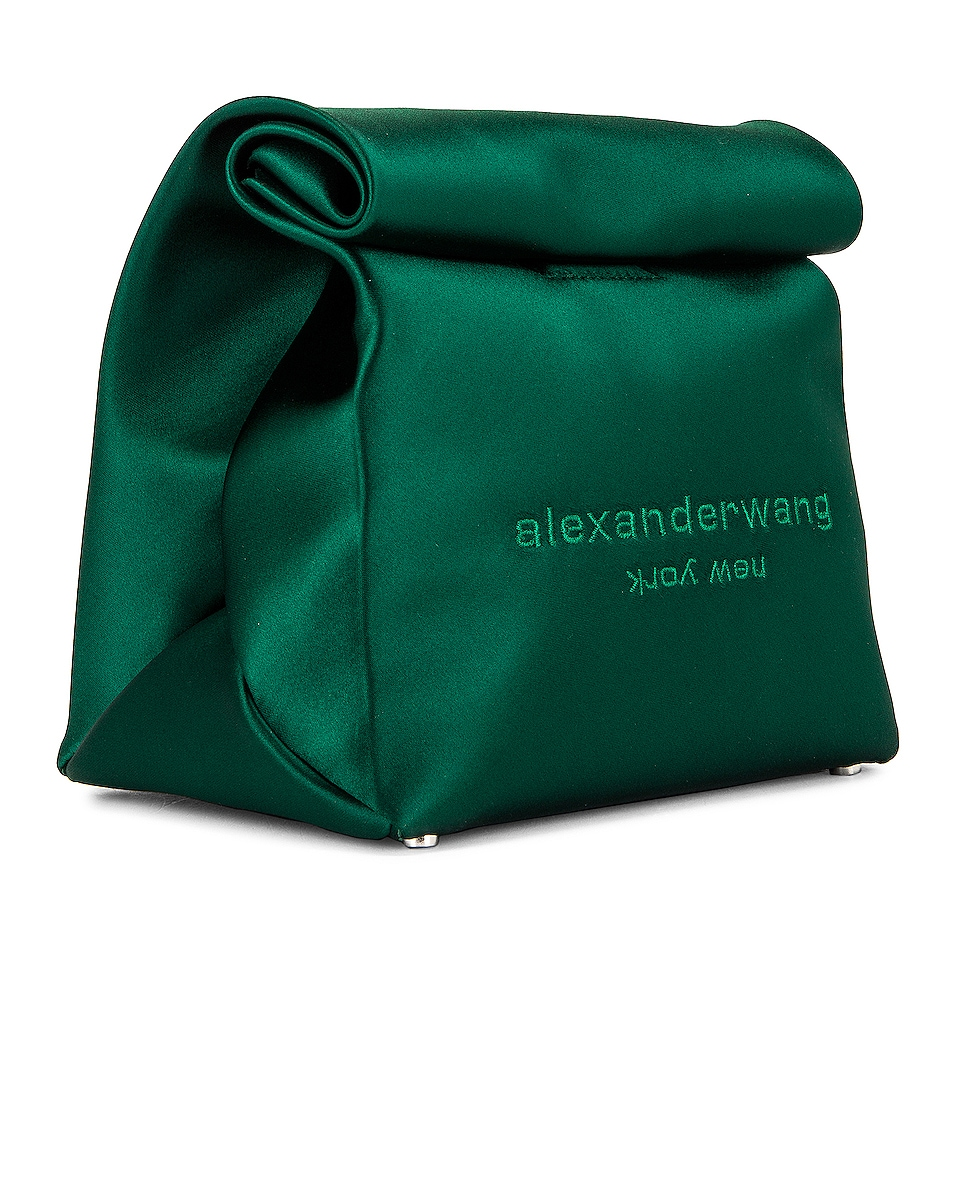 Image 4 of Alexander Wang Lunch Bag Clutch in Emerald