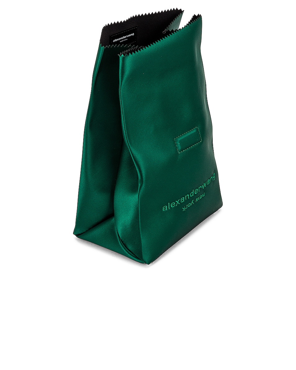 Image 5 of Alexander Wang Lunch Bag Clutch in Emerald