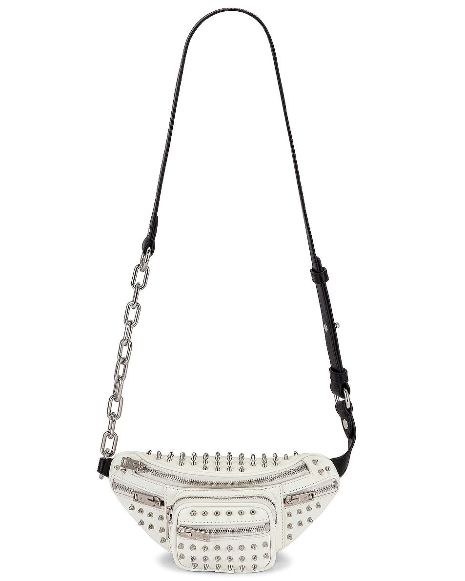 Image 6 of Alexander Wang Attica Soft Mini Fanny Crossbody Bag in White