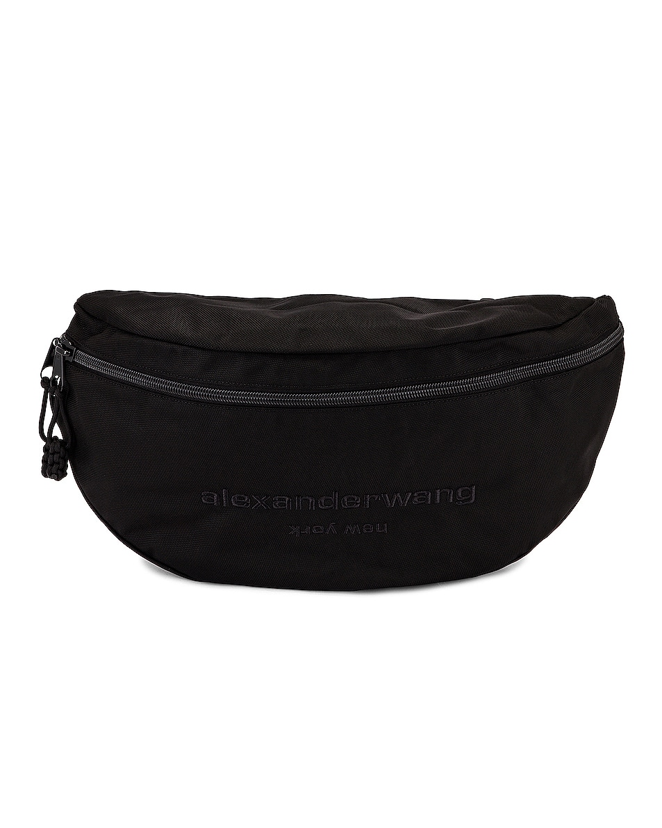 Image 1 of Alexander Wang Attica Gym Fanny Pack in Black