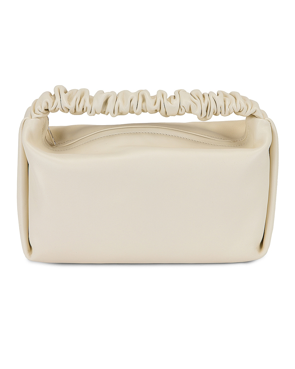 Image 1 of Alexander Wang Scrunchie Small Bag in White