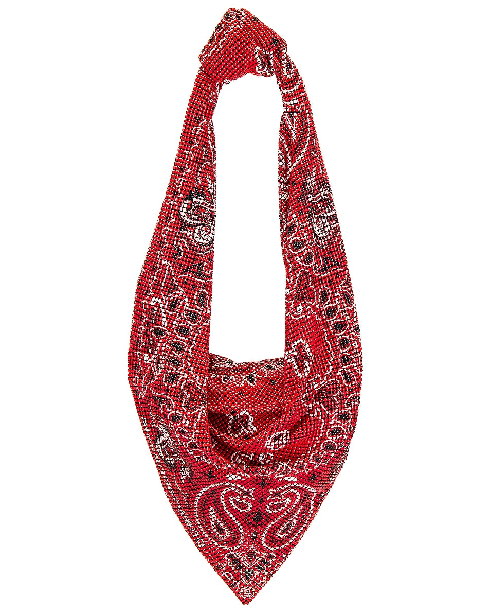 Image 1 of Alexander Wang Scarf Bag in Bright Red