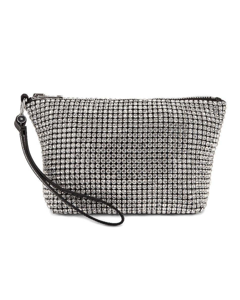 Image 1 of Alexander Wang Heiress Clutch in White