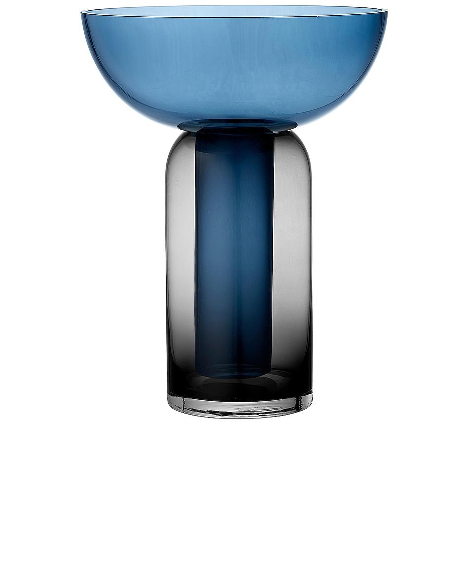Image 1 of AYTM Torus Vase in Black & Navy