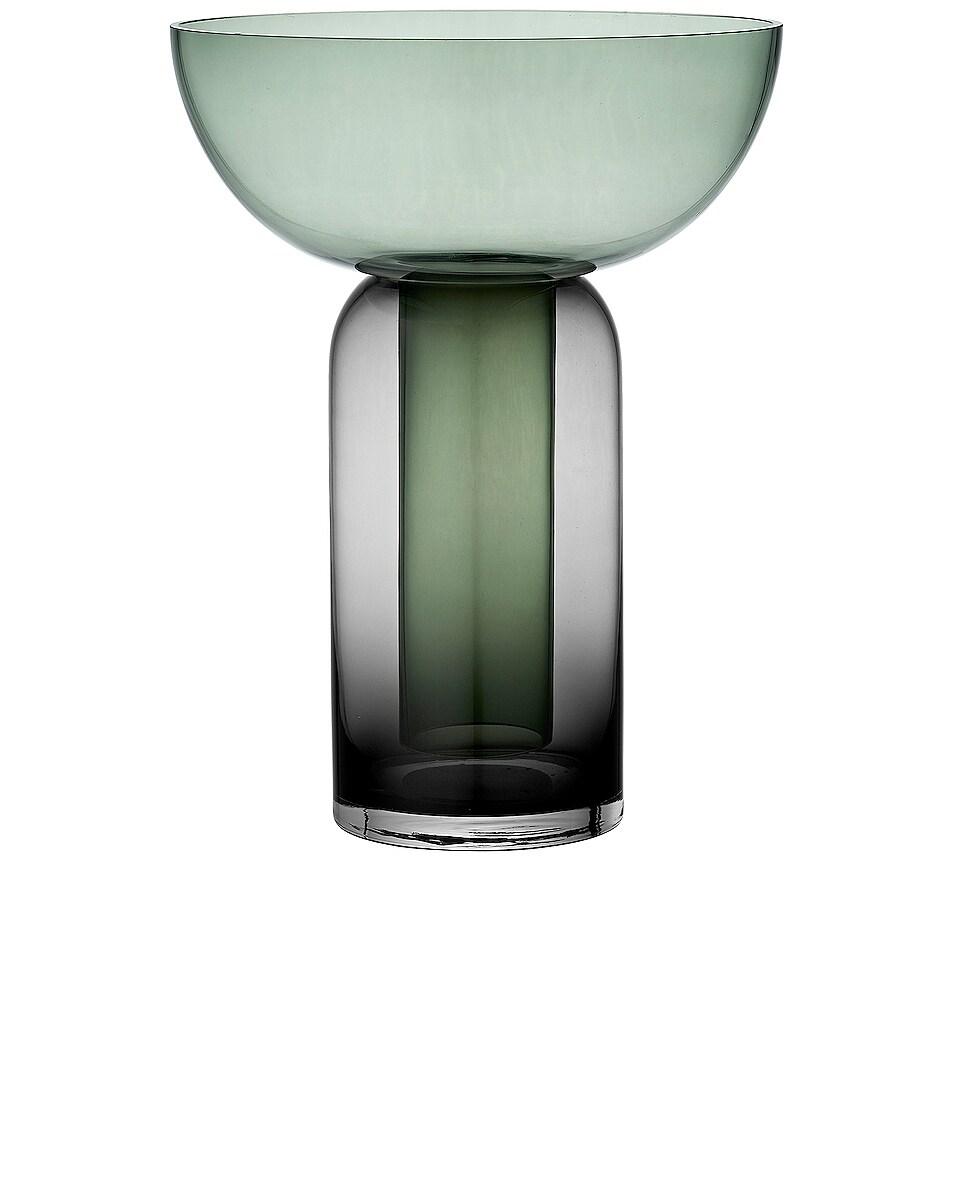 Image 1 of AYTM Torus Vase in Black & Forest