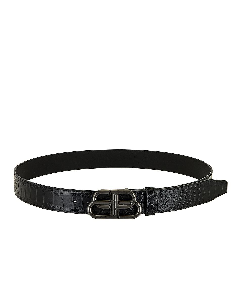 Image 1 of Balenciaga Belt in Black
