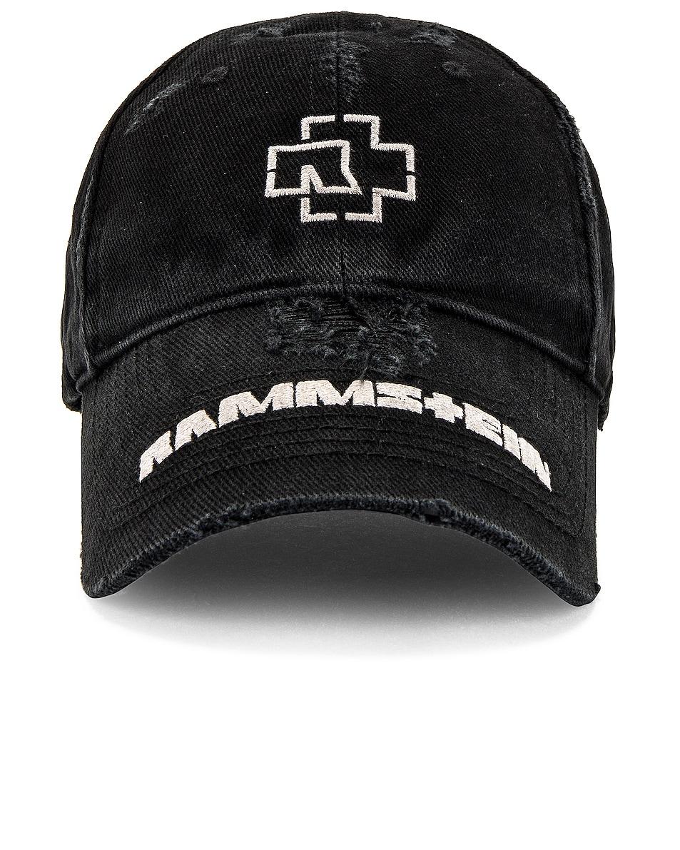 Image 1 of Balenciaga Rammstein Cap in Black