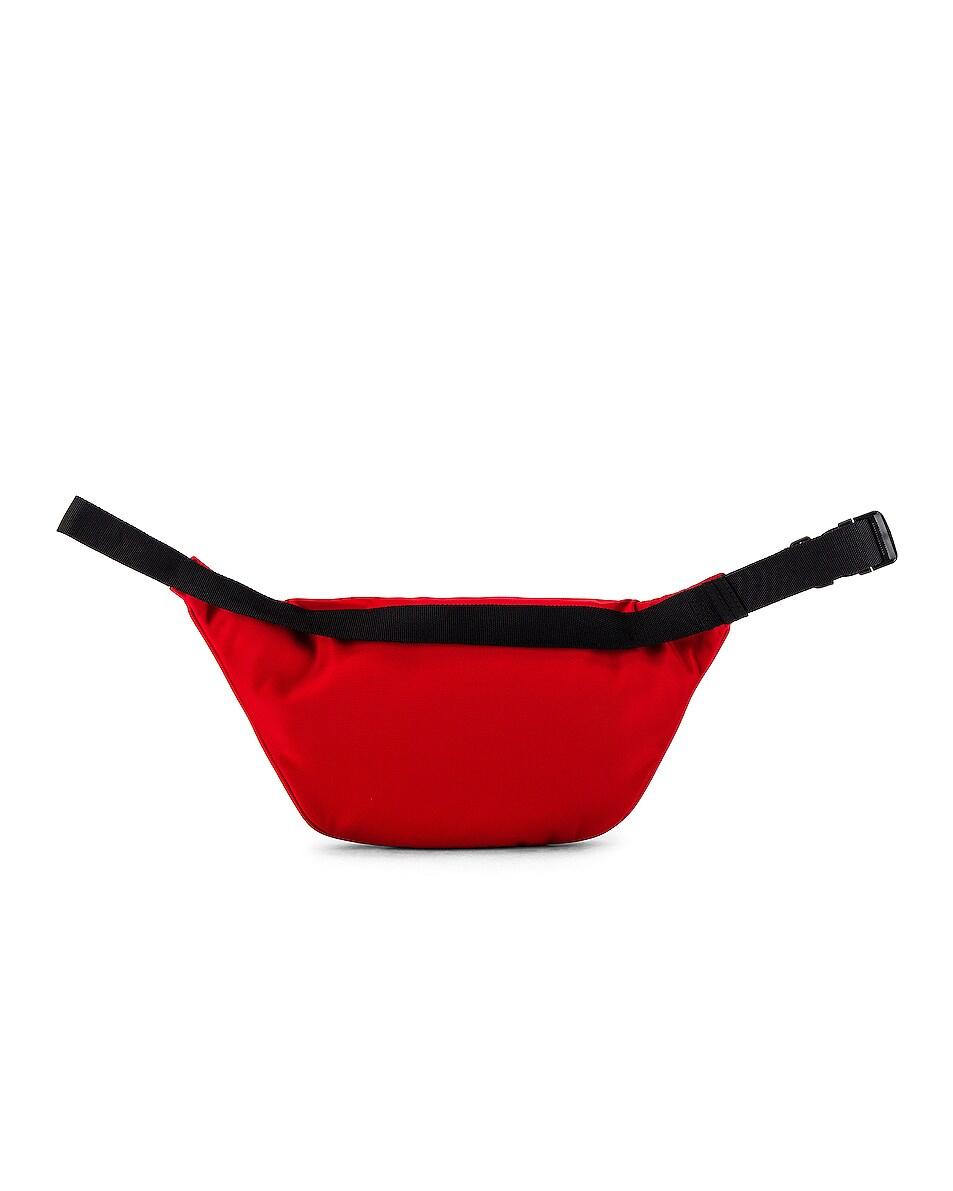 Image 2 of Balenciaga Paris Laurel Explorer Belt Pack in Bright Red