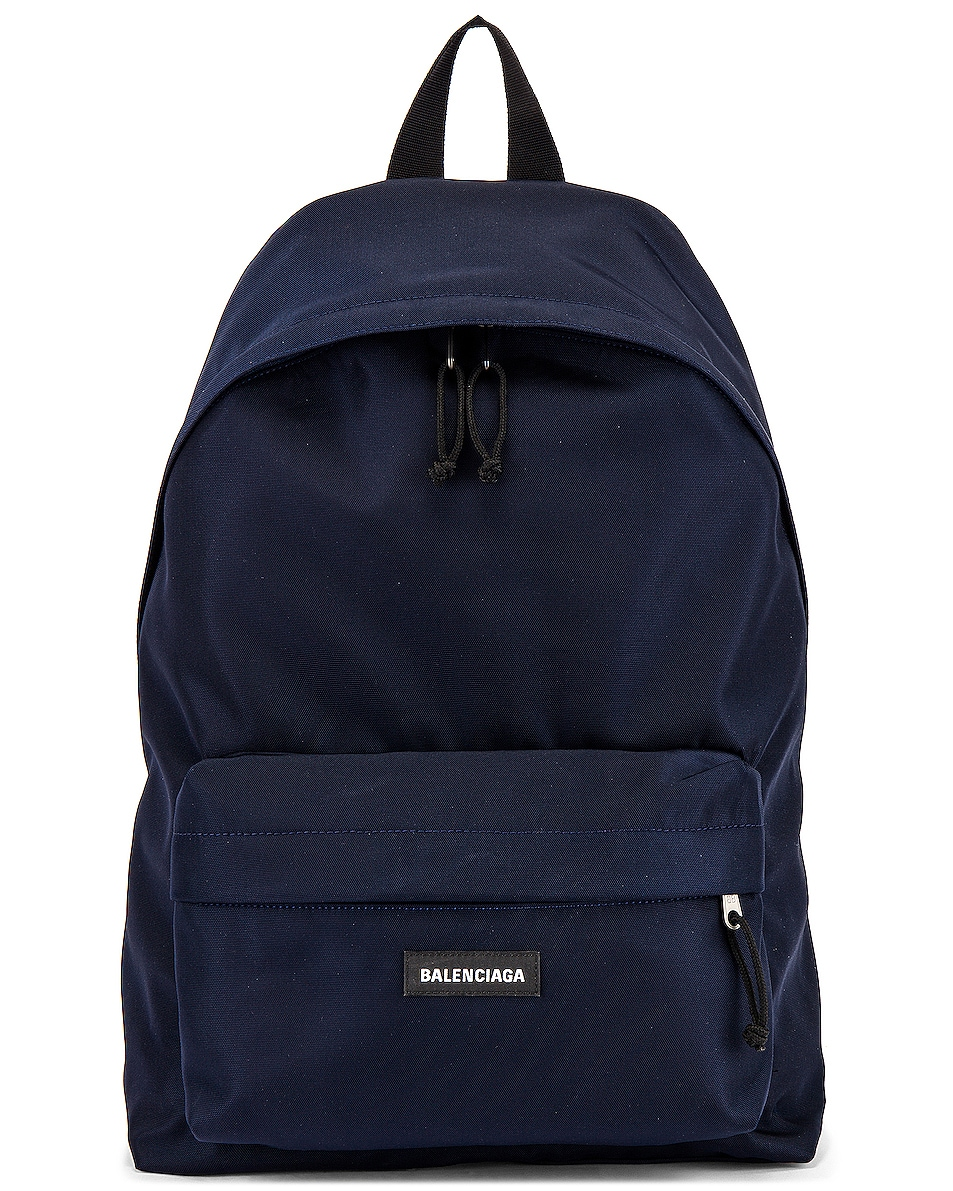 Image 1 of Balenciaga Explorer Backpack in Navy