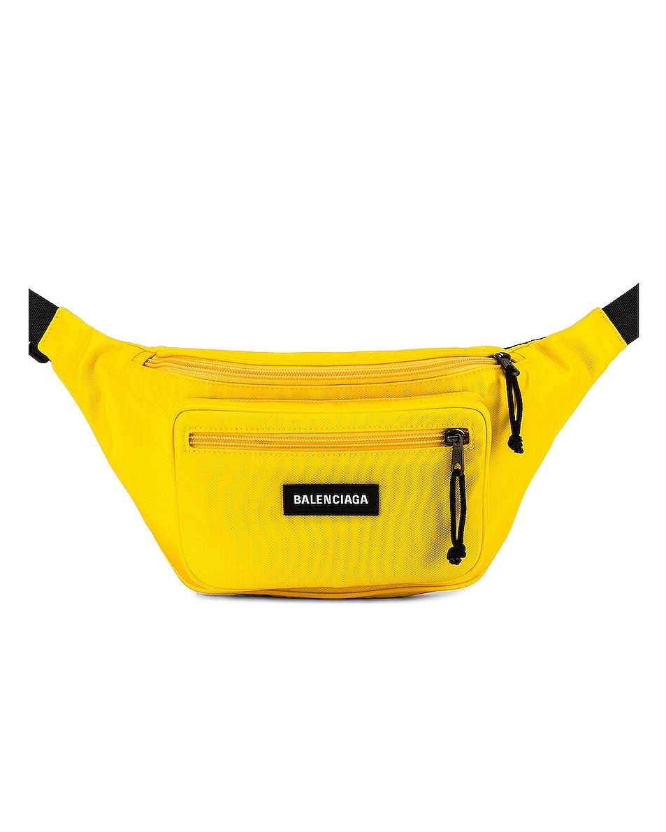 Image 1 of Balenciaga Explorer Belt Pack in Yellow