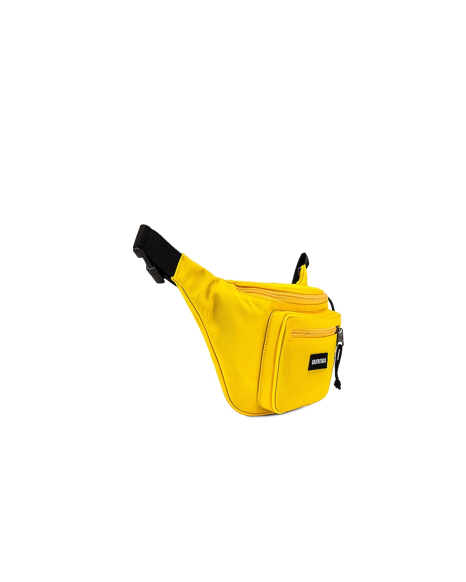 Image 3 of Balenciaga Explorer Belt Pack in Yellow