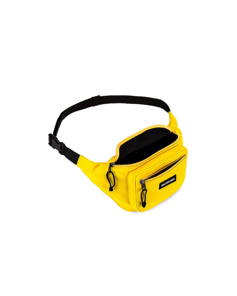 Image 4 of Balenciaga Explorer Belt Pack in Yellow