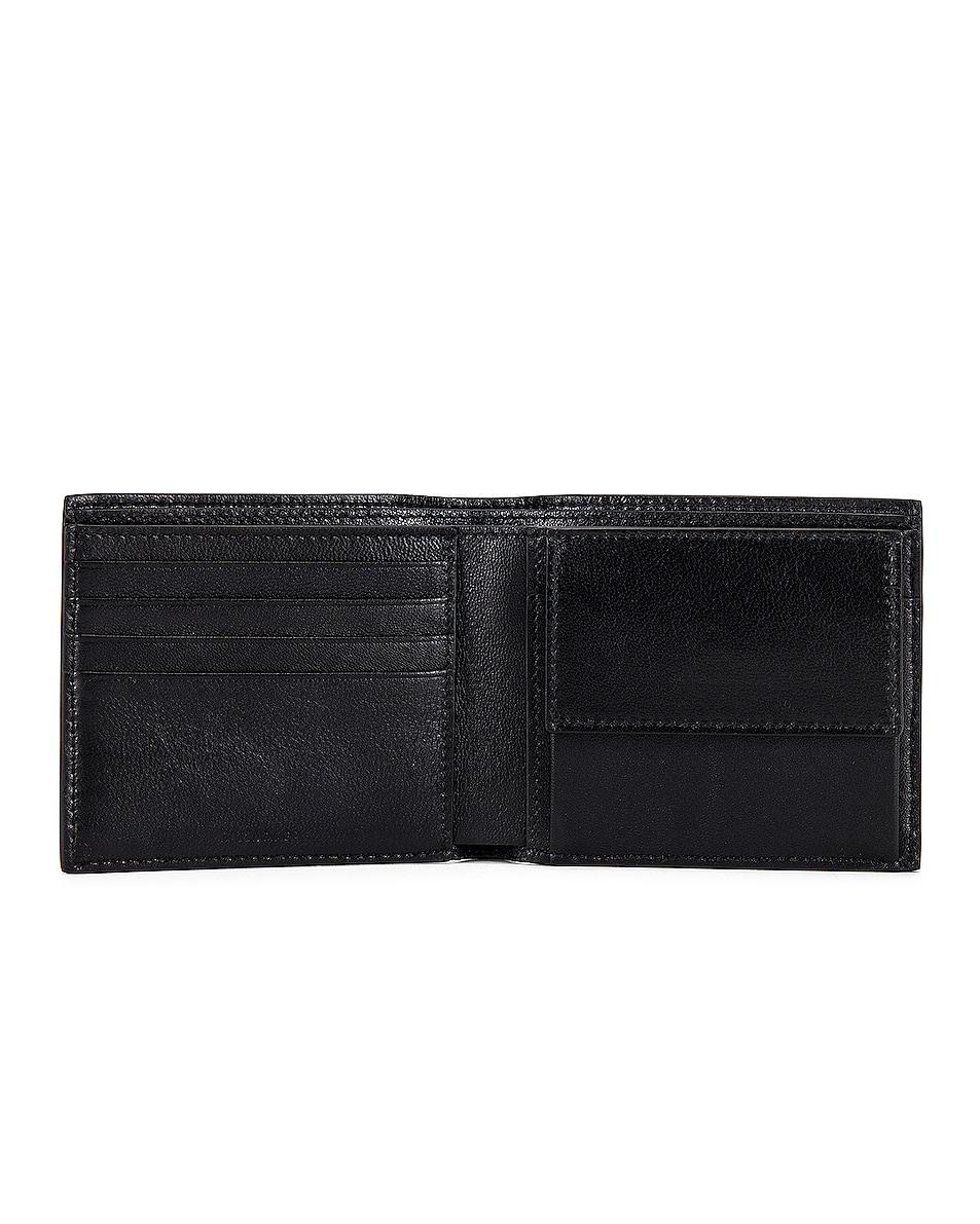 Image 4 of Balenciaga Cash Square Wallet in Black & Fluo Yellow
