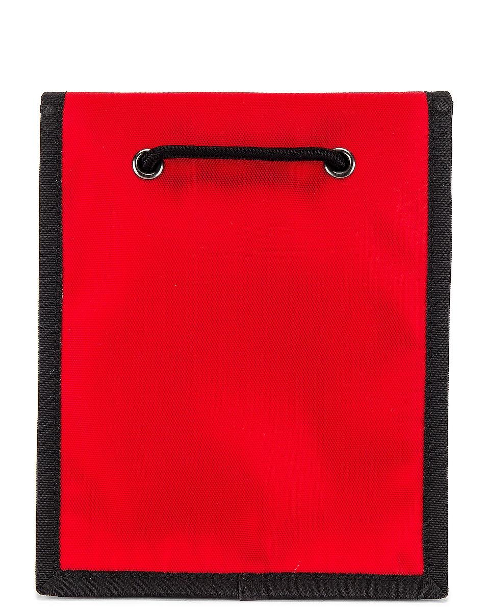 Image 2 of Balenciaga Explorer Pouch Strap in Bright Red