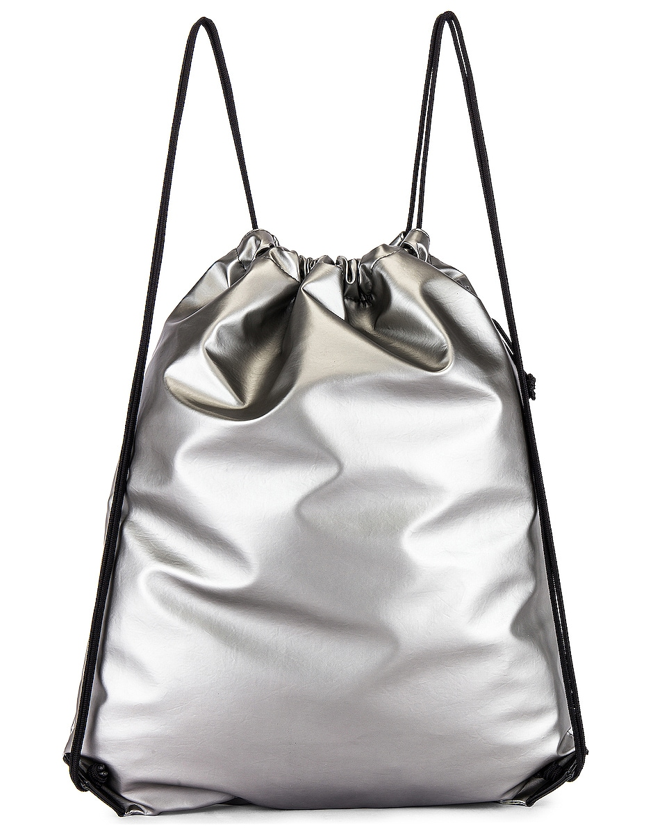 Image 2 of Balenciaga Explorer Drawstring in Silver