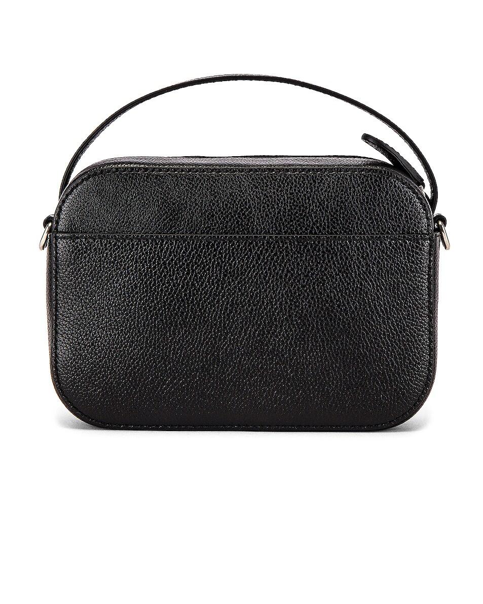 Image 2 of Balenciaga Vile Cam Bag in Black & White