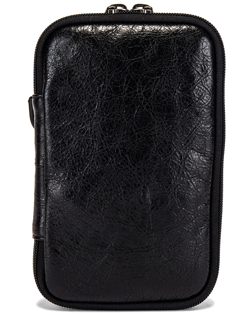 Image 2 of Balenciaga Cross Body Pouch in Black