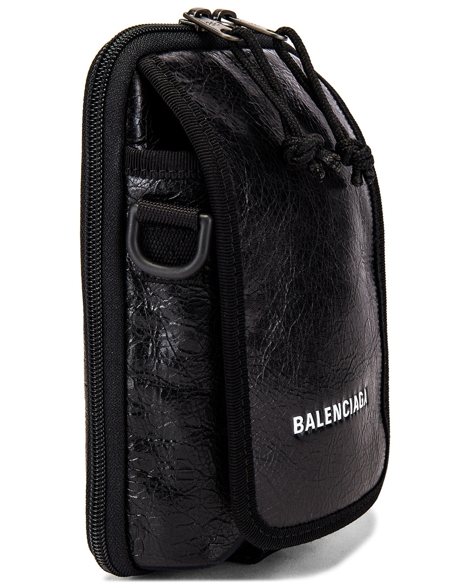 Image 3 of Balenciaga Cross Body Pouch in Black