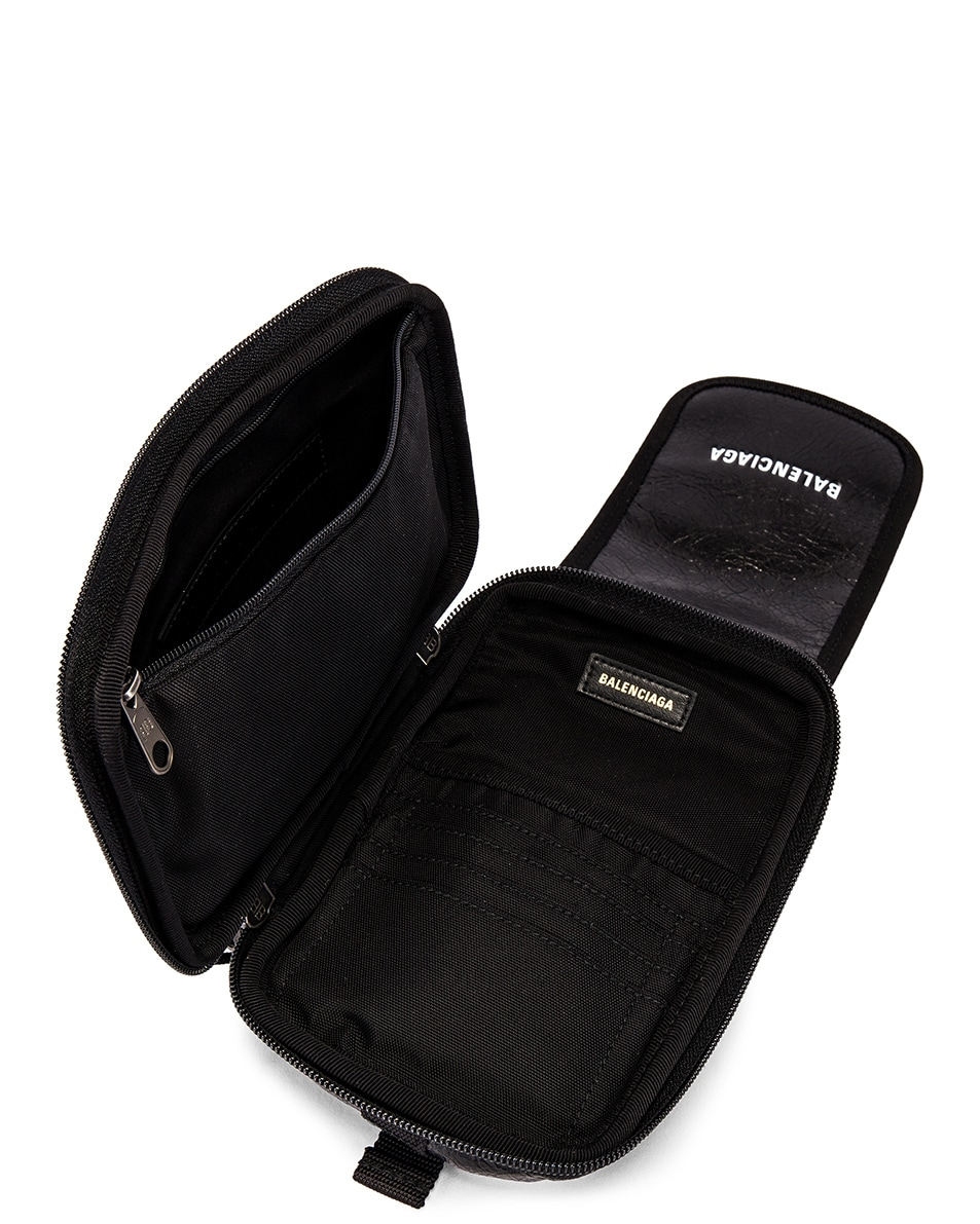 Image 5 of Balenciaga Cross Body Pouch in Black